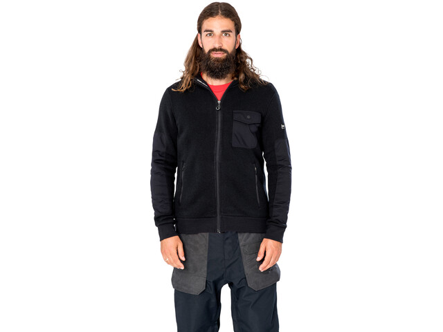 super.natural Compound Techno Jacket Men jet black